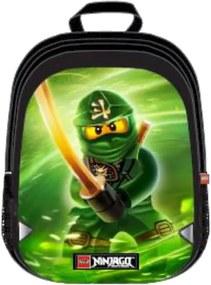 Rucsac extins LEGO V-Line - design verde NinjaGo Lloyd