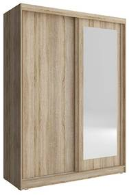 Expedo Dulap dormitor SOFIE 150, 150/200/62, stejar sonoma