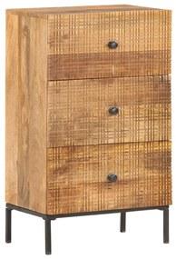 286560 vidaXL Servantă, 45 x 30 x 75 cm, lemn masiv de mango