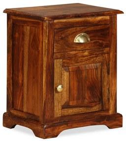 243938 vidaXL Noptieră 40 x 30 x 50 cm, lemn masiv de sheesham