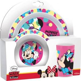 Set 3 piese mic dejun Minnie