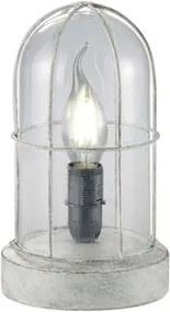 Trio BIRTE 503800161 Veioze, Lampi de masă gri antic metal excl. 1 x E14, max. 40W IP20