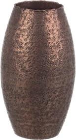 Vaza decorativa pentru flori metal Cooper 13x25h