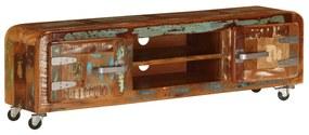 247512 vidaXL Comodă TV, 120 x 30 x 36 cm, lemn masiv reciclat