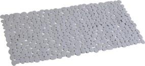 Covor antiderapant dreptunghiular 88x40cm din PVC gri AWD02090807