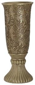 Vaza din rasina Vintage Gold 35 cm