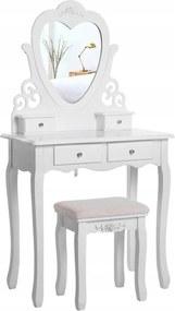 Masă de toaletă Princess WHITE