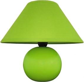 Rábalux Ariel 4907 Lampa de masa de noapte verde ceramică E14 1x MAX 40W IP20