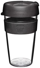 Cana Keepcup din sticla 454 ml, negru