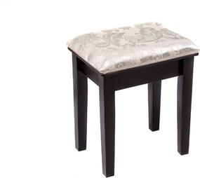 Scaun pentru masa de toaletă, Negru