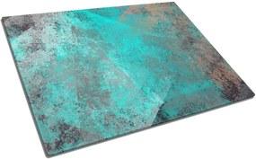 Tocător din sticlă Insigne Turquoise