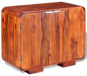243955 vidaXL Servantă din lemn masiv de sheesham 75 x 35 x 60 cm