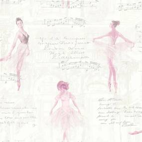 Tapet - Arthouse Pirouette Pink Pirouette Pink