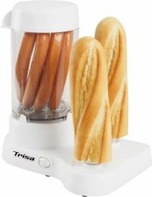 Aparat pentru preparat Hot Dog Trisa Hot Dog, 350W, Alb