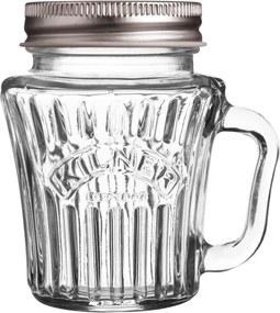 Cană mică tip borcan Kilner Vintage, 110 ml