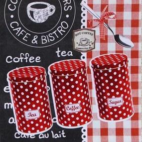 Tablou pe pânză - Coffe and Bistro, 28x28 cm