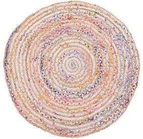 Covor Luxor, multicolor, d 90 cm