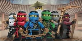 Prosop din bumbac pentru copii Halantex Lego Friends Ninjas, 70 x 140 cm