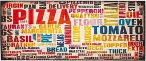Covor de bucătărie foarte rezistent Floorita Pizza, 60 x 110 cm