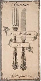 Tavă decorativă Antic Line Meilleurs Plats