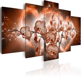 Tablou - Love orchids 100x50 cm