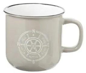 Cana Sailor Bej, ceramica, 140 ml