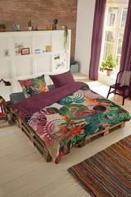 Home colorate reversibile lenjerie de pat pentru pat de o persoana Hip Sirke 140x200cm
