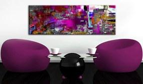 Tablou - Purple Orangery 120x40 cm