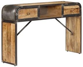 247805 vidaXL Servantă, 120 x 30 x 75 cm, lemn masiv de mango