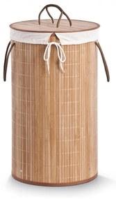 Cos rufe Zeller, bambus, rotund, 35x60 cm
