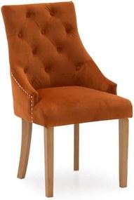 Set 2 scaune dining VIDA Living Hobbs, portocaliu