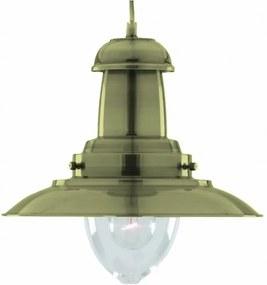 Top Light - Lampa suspendata FISHERMAN 1 XL AB 1xE27/60W
