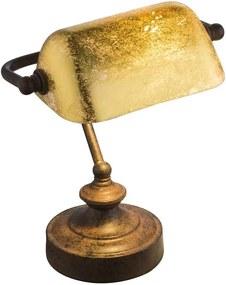 Globo 24917R - Lampă de masă ANTIQUE 1xE14/25W/230V