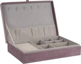 Cutie bijuterii Secret cabinet, roz