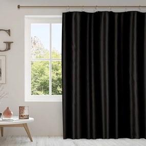 Goldea draperie blackout - bl-43 negru  - lățime 135cm 140x135 cm