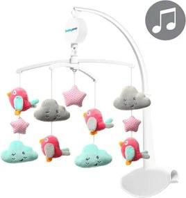 Carusel muzical pentru patut Baby Ono Clouds & Birds