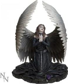 Statuetă înger Rugă pentru cei căzuți