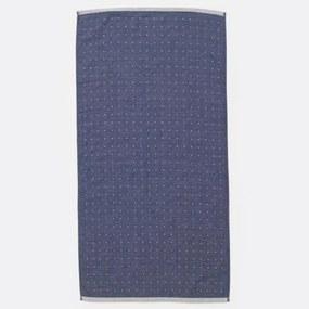 Prosop din Bumbac Albastru SENTO L - Bumbac Albastru latime(70 cm) x Inaltime(140 cm)
