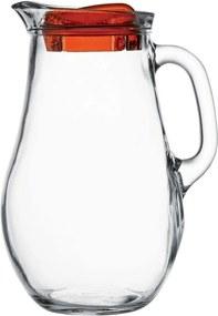 Carafă din sticlă Pasabahce Bistro, cu capac, 1,85 l