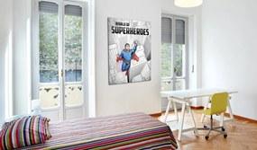 Bimago Tablou - World of superheroes 50x70