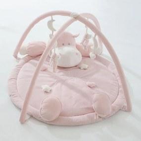 Loc de Joaca Copii si Bebelusi Bombo 45061R Roz