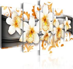 Tablou - Pleasure of orange 100x50 cm