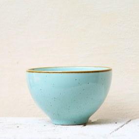 Bol Gardena din ceramica turcoaz 13 cm