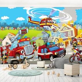 Fototapet - Pompierii (254x184 cm), în 8 de alte dimensiuni noi