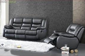 Canapea 3 locuri si 1 fotoliu JADINE