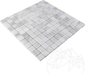 Mozaic Marmura Kavala Polisata 2.7 x 2.7 cm