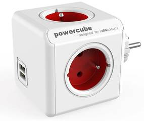 Prelungitor PowerCube Original USB roşu