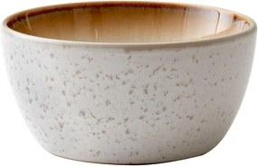 Bol servire din ceramică Bitz Basics Cream, ⌀ 14 cm, crem