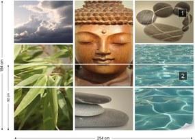 Fototapet GLIX - Zen Calming Scene + adeziv GRATUIT Tapet nețesute - 254x184 cm