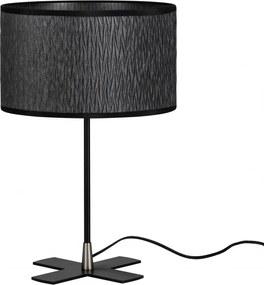 Veioza negru texturat din otel si textil 39 cm Once Milla Bulb Attack